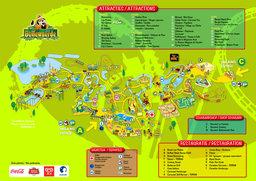 plan de bellewaerde-park
