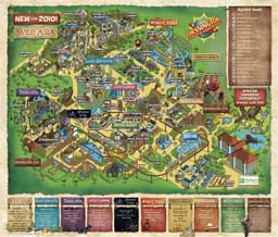 plan de chessington-world-of-adventures