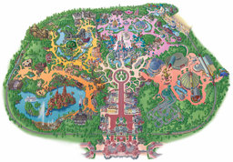 plan de disneyland-paris