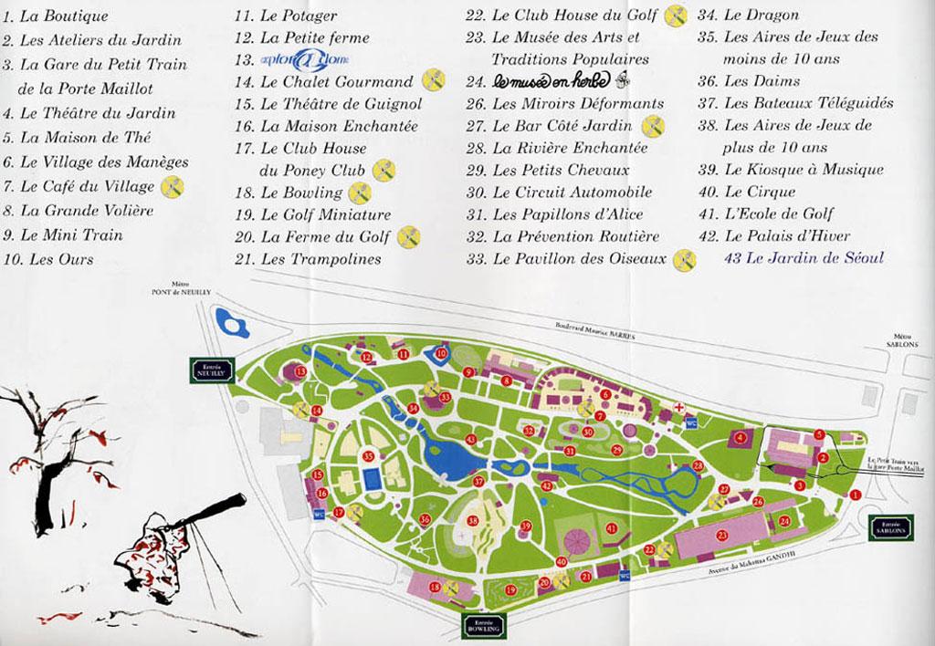 Jardin d 39 acclimatation infos photos plan videos - Comment aller au jardin d acclimatation ...