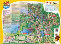 plan de walibi-holland